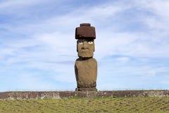 Tahai Ceremonialny kompleks przy Wielkanocną wyspą, Chile Zdjęcia Royalty Free