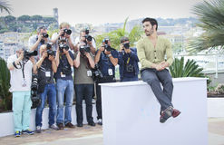 Tahar Rahim. Attends the 'Jury Un Certain Regard' photocall during the 68th annual Cannes Film Festival on May 14, 2015 in Cannes, France Stock Photo