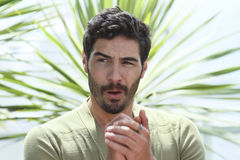 Tahar Rahim. Attends the 'Jury Un Certain Regard' photocall during the 68th annual Cannes Film Festival on May 14, 2015 in Cannes, France Royalty Free Stock Photography