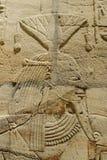 Taharqa寺庙  库存照片