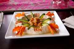 Tahina - aperitivo foto de stock royalty free