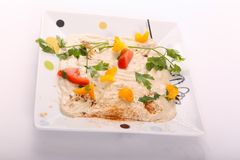 Tahina Appetizer Royalty Free Stock Images
