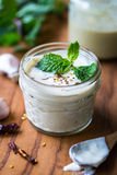 Tahini dressing Stock Photography