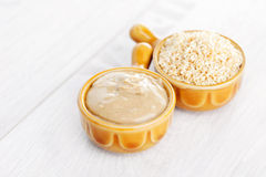 Tahini Royalty Free Stock Photo