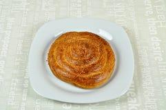 Tahini-Muffin, Tahinli Corek stockbild