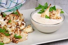 Free Tahini Sauce With Cauliflower Stock Photos - 97013603