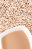 Tahini, sesame paste. healthy food and drink Stock Photo