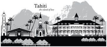 Tahití, Polinesia francesa Imagen de archivo libre de regalías