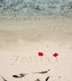 Tahiti Royalty Free Stock Photography
