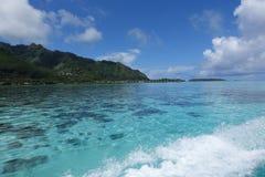 Tahiti - Arkivfoton