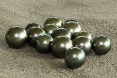 Tahiti black pearl- 231-bis. Black coloured pearl from Tahiti royalty free stock image