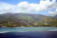 Tahiti coral reef Royalty Free Stock Image