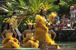 Tahiti Dance Stock Photography