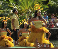 Tahiti Dancers Royalty Free Stock Photography