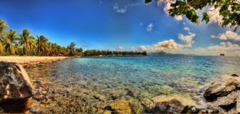 Tahiti, Franse Polynesia royalty-vrije stock foto