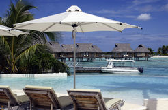 Tahiti - Franse Polynesia - Stille Zuidzee Stock Foto's
