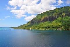 Tahiti-Inseln gestalten landschaftlich lizenzfreies stockfoto
