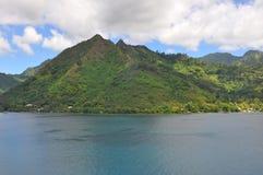 Tahiti-Inseln gestalten landschaftlich lizenzfreie stockbilder