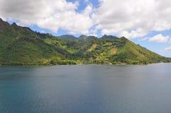 Tahiti-Inseln gestalten landschaftlich stockfotos