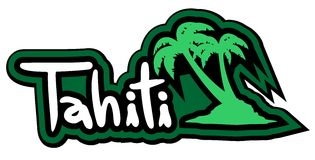 Tahiti palm Stock Photos