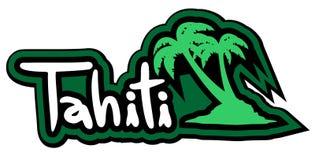 Tahiti palm Stock Photos