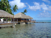 Tahiti Resort Stock Images