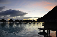 Tahiti Sunrise Stock Photography