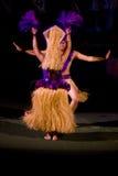 Tahiti-Tänzer lizenzfreies stockfoto