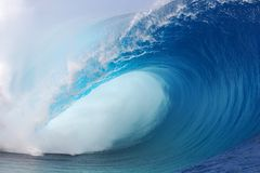 Tahiti Wave Stock Image