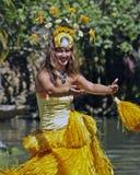 Tahitian舞蹈演员 免版税图库摄影