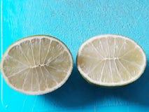 Tahitian citron royaltyfri fotografi
