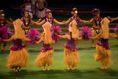 Tahitian Dancers Royalty Free Stock Photography