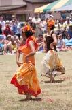 tahitian dansare royaltyfria foton