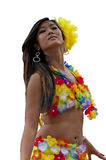 Tahitian girl Royalty Free Stock Photography