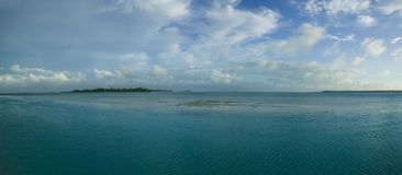 Tahitian Lagune Lizenzfreie Stockfotografie