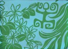 Tahitian pare. Royalty Free Stock Photography