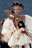 Tahitian Performer Royalty Free Stock Image