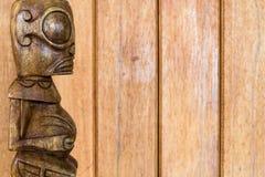 Tahitian Tiki Stock Photo
