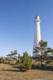 Tahkuna灯塔在Hiiumaa,爱沙尼亚 图库摄影