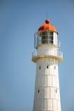 Tahkuna latarnia morska przeciw niebieskiemu niebu Zdjęcia Stock