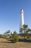 Tahkuna lighthouse in Hiiumaa, Estonia Stock Photography