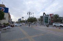 Tahlia街在利雅得,沙特阿拉伯, 01 12 2016年 图库摄影