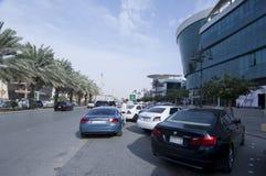 Tahlia ulica W Riyadh, Arabia Saudyjska, 01 12 2016 Obraz Royalty Free