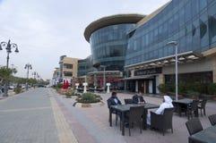 Tahlia ulica W Riyadh, Arabia Saudyjska, 01 12 2016 Zdjęcia Stock