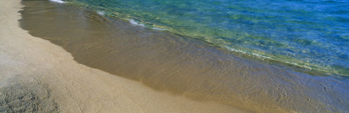 Tahoe湖海岸线 免版税库存照片