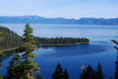 Tahoe湖,加利福尼亚 库存图片