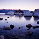 Tahoe湖 库存照片