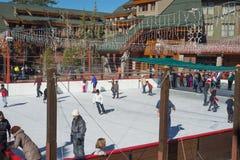 Tahoe滑雪胜地 库存照片