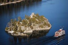 tahoe озера s залива изумрудное Стоковые Изображения RF