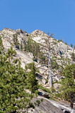 tahoe пейзажа горы озера стоковая фотография